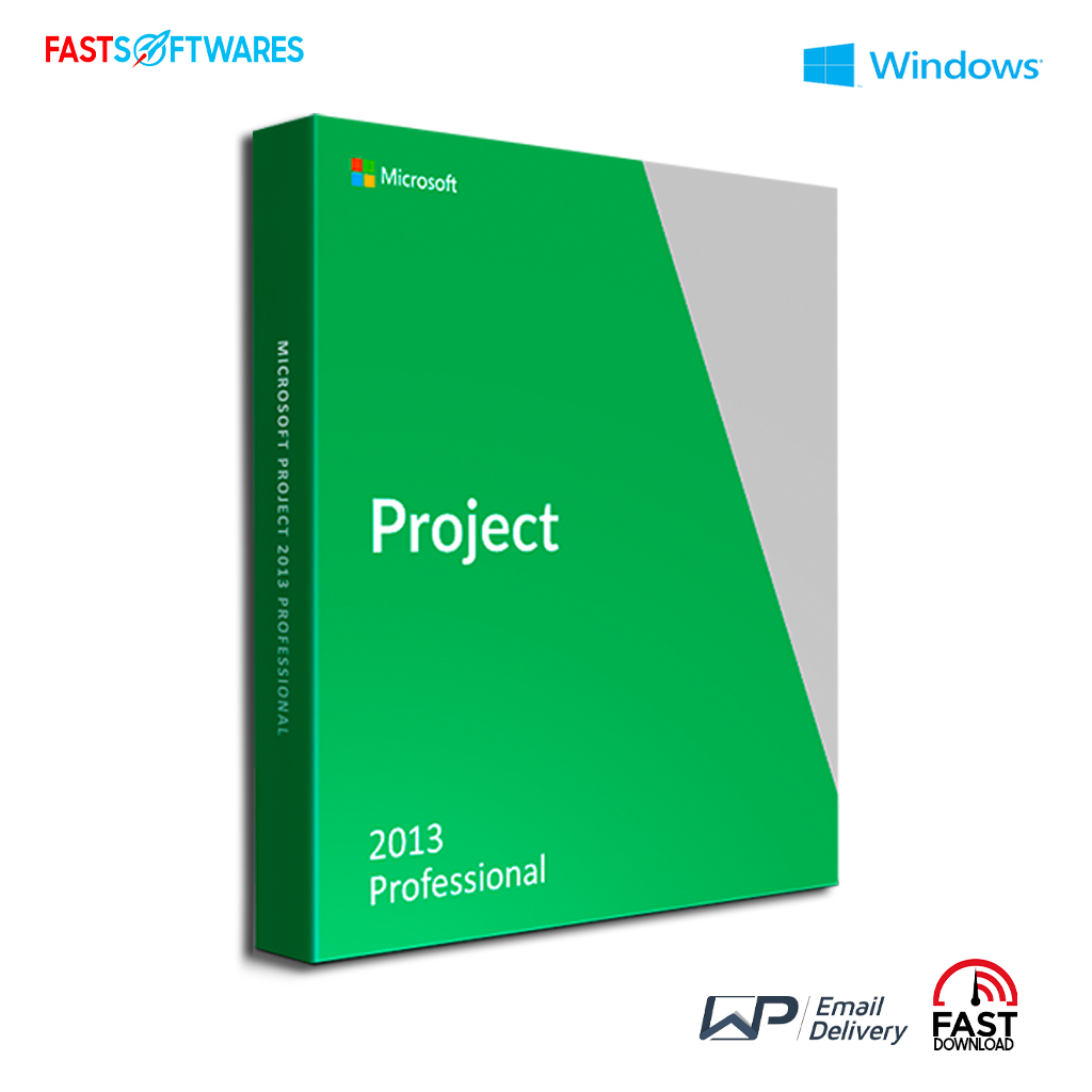 Microsoft Project 2013 Professional Fastsoftwares Us